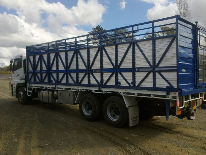 Single Deck Cattle Stockcrates